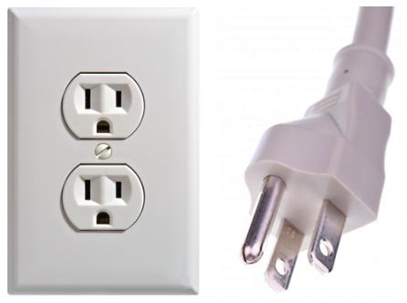 美国电源插头插座