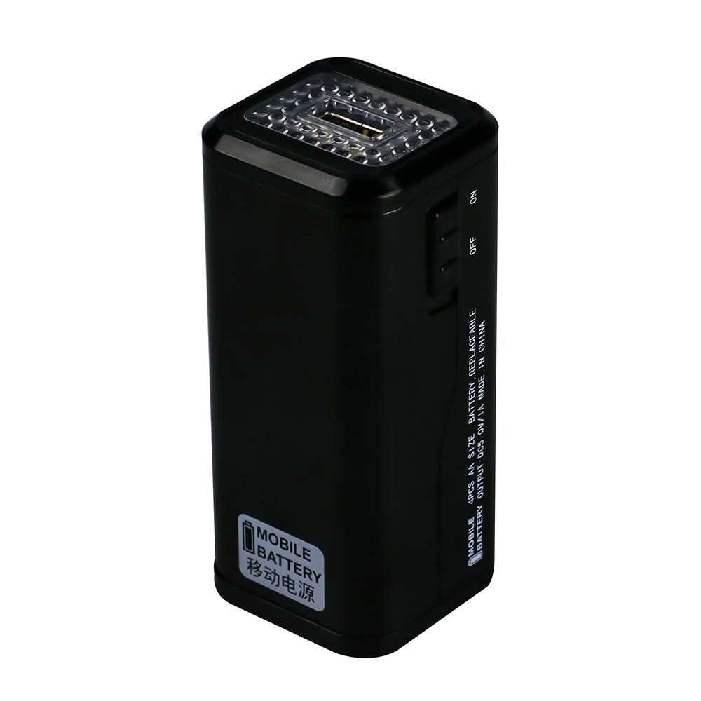 野外户外自然⊙灾害停电AA电池移�动电源充电宝