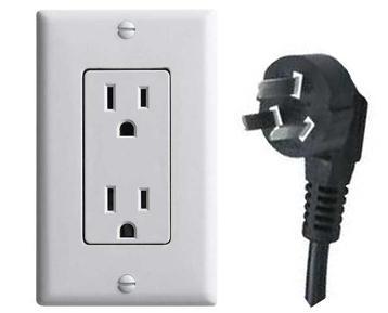加拿大电源插座