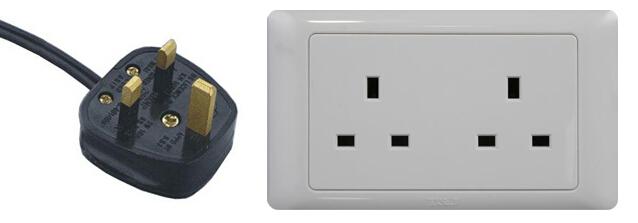 英国电源插头插座