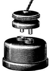 英标2针插头和插座