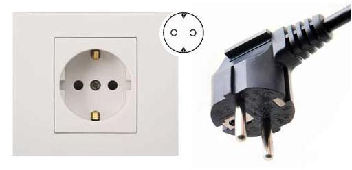 韩国电源插头插座