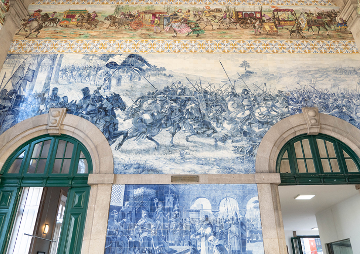 圣本笃火车站