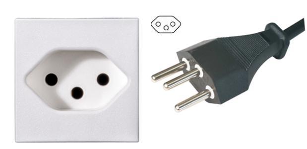 瑞士电源插头插座