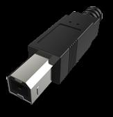 USB-B公头