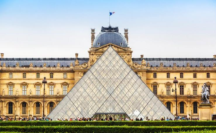 卢浮宫旅行转换器