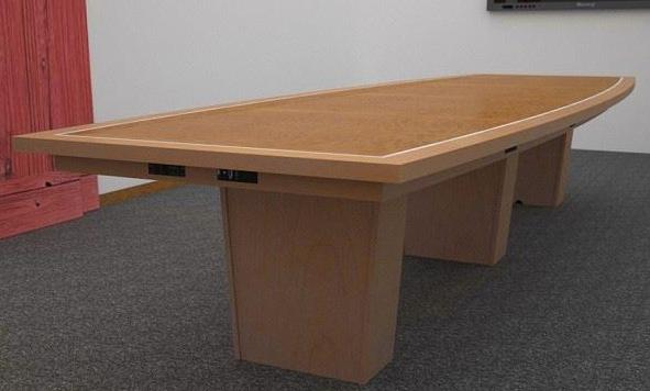 会议桌插座安装