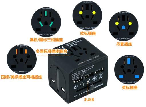 多功能插座转换器
