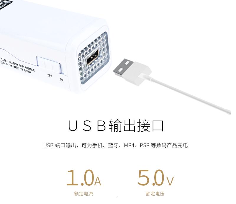 USB应急电源充电器