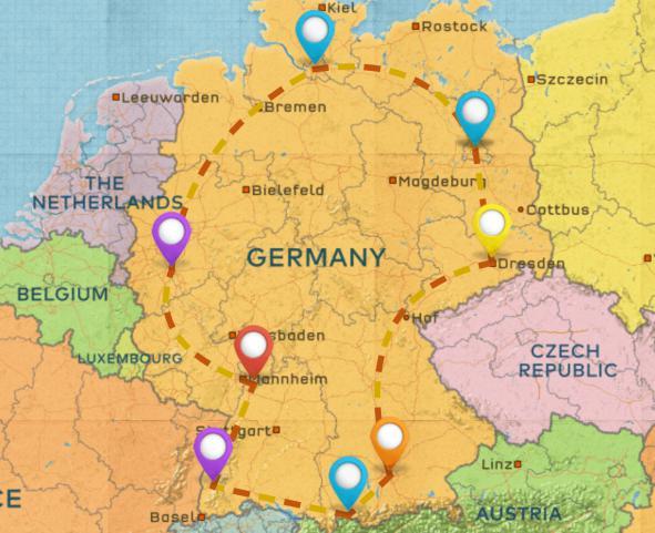 德国旅行转换器