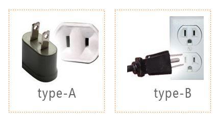 加拿大电源插头