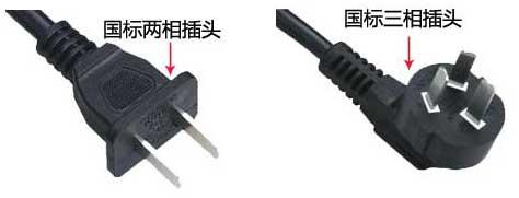 中国电器插头