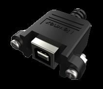 USB-B母头